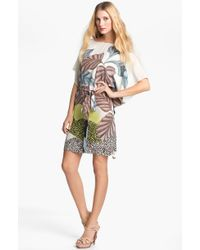 Diane von Furstenberg Diane Hanky Print Silk Dress - Lyst