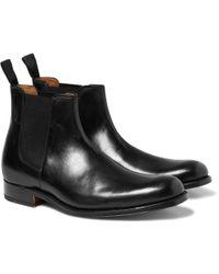 Foot The Coacher Declan Leather Chelsea Boots - Black
