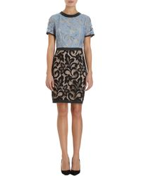 Sea Combo Netted Lace Dress - Lyst