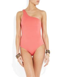 Violet Lake - Caruso One Shoulder Swimsuit - Lyst