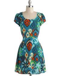 ModCloth Ikat Got Your Fun Dress - Lyst