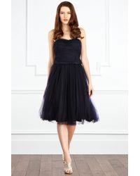 Coast Tressi Full Skirt - Blue