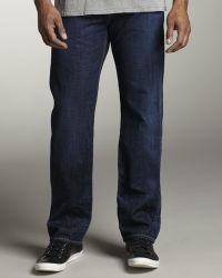 7 For All Mankind Standard Swedish Blue Jeans - Lyst