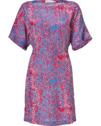 See By Chloé Printed Sateen Mini Dress - Lyst
