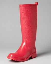 Marc By Marc Jacobs Logoembossed Rain Boots - Pink