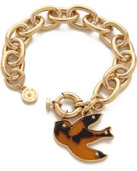 Marc By Marc Jacobs - Petal To The Metal Charm Bracelet - Lyst