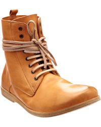 Marsell Laceup Ankle Boot - Lyst