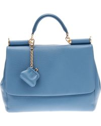 Dolce & Gabbana Flap Tote blue - Lyst