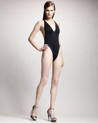 Lanvin - Onepiece Bodysuit Black - Lyst