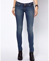 Levi's Low Curve ID Demi Curve Skinny Jeans - Lyst
