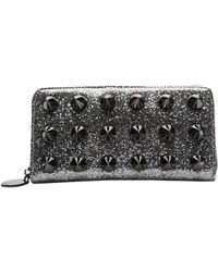 Deux Lux - Glitter Empire Zip Wallet - Lyst