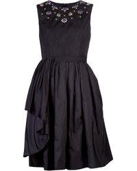 Jason Wu Jewel Neck Dress - Lyst