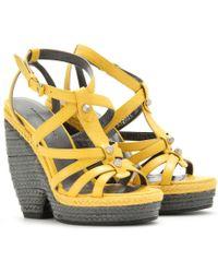 Balenciaga Trainer Espadrille Wedge Sandals - Lyst