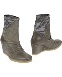 Muse Ankle Boots gray - Lyst
