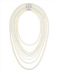 Jaeger - Multistrand Pearl Necklace - Lyst