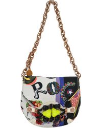 Versace Rock and Roll Canvas Bag multicolor - Lyst