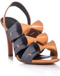 Balenciaga Origami Sandals - Lyst
