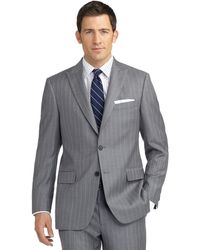 Brooks Brothers Madison Fit Mini Bold Double Stripe Suit - Lyst