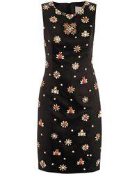 Jason Wu Embellished Satin Dress - Lyst