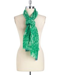Juicy Couture - Wool Python Print Scarf - Lyst