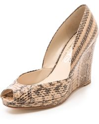 Kors by Michael Kors - Vail Wedge Court Shoes - Lyst