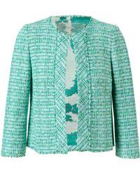 Giambattista Valli Tailored Tweed Jacket - Lyst