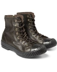 Converse - Bosey Chuck Taylor All Star Leather Boots - Lyst