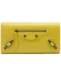 Balenciaga -  Classic Wallet - Lyst