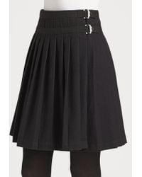 Burberry Brit - Pleated Kilt Skirt - Lyst