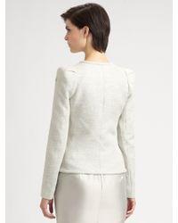 Armani Lurex Melange Jacket - Lyst