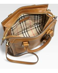 Burberry Honeywood Tote - Lyst