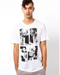 KR3W T-shirt Girl Logo - White