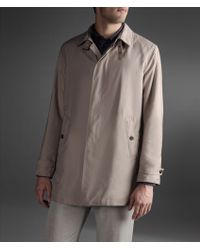 Armani Classic Trench in Technical Fabric - Lyst