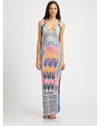 Mara Hoffman Electric Casino Tank Maxi Dress - Lyst