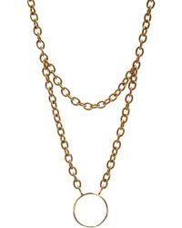 Aesa - Quartz Vivienne Necklace - Lyst