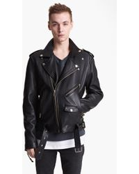 BLK DNM 'Leather Jacket 5' Leather Moto Jacket - Lyst