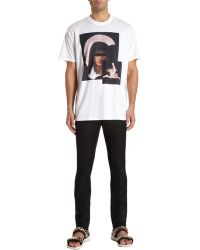 Givenchy Virgin Mary with Yoga Baby Jesus Tee Shirt - Lyst