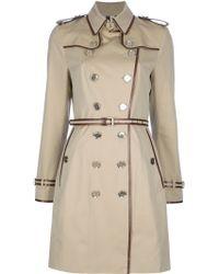 Burberry Trench Coat beige - Lyst