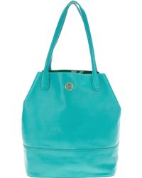 Tory Burch Large Tote Bag blue - Lyst