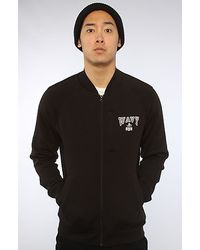 Crooks and Castles - The Wavy Zip Jacket in Black - Lyst