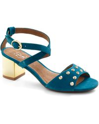 ModCloth Glam in The Mirror Heel in Teal - Lyst