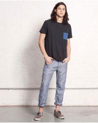Rag & Bone  Chambray Jeans - Lyst