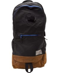 Rag & Bone Leather Trimmed Backpack - Lyst