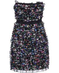 Diane von Furstenberg Short Dress multicolor - Lyst