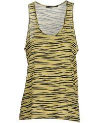 Proenza Schouler Sleeveless T-Shirt - Lyst