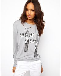 ASOS Collection Asos Jumper with Witchy Cross - Lyst