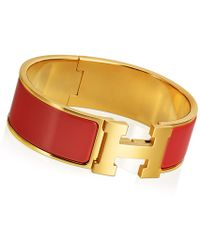 Hermès Clic Clac H Bracelet - Lyst