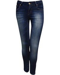 Jane Norman Basic Skinny Jeans blue - Lyst