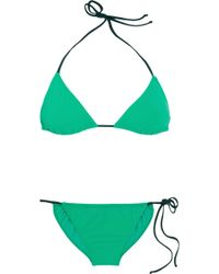 Lanvin - Triangle Bikini - Lyst