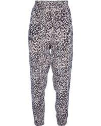 Tucker - Leopard Print Trouser - Lyst